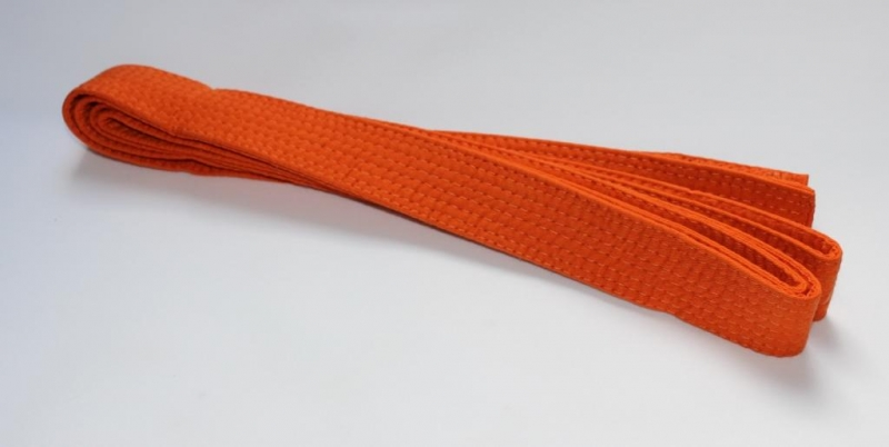 Gürtel orange